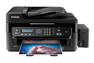 Epson master copy ink tank organisation proven to deliver reliable printing alongside unmatched economi Download Printer Driver  EPSON L555 Series