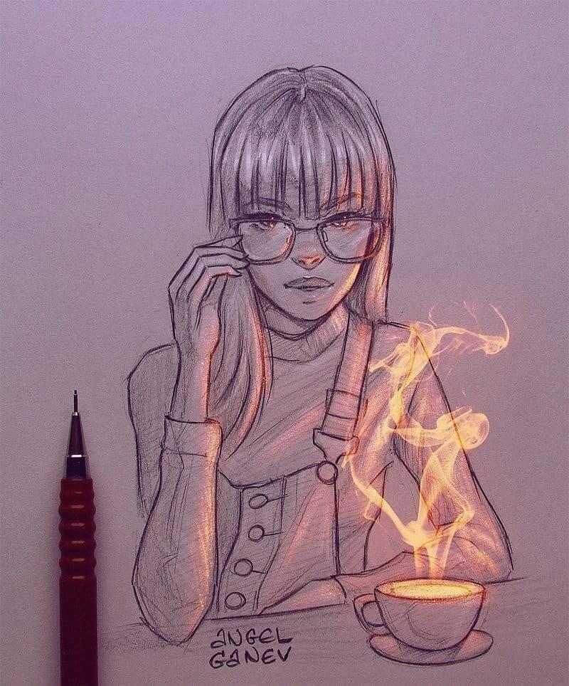03-Smoke-is-Life-Angel-Ganev-Luminous-Pencil-Portraits-that-Glow-www-designstack-co