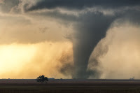 Tornado near Dodge City