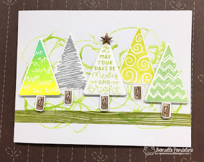 Festive Forest | Newtons Nook Designs | Card Created by Danielle Pandeline