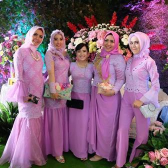 Kumpulan Gambar Model Kebaya Wanita Muslim Berhijab