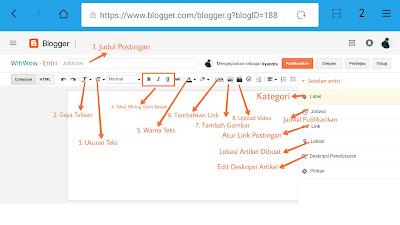 membuat postingan blog berkualitas dan seo