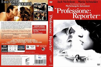 cover,caratula, dvd: El reportero | 1975 | Professione: Reporter (The Passenger)