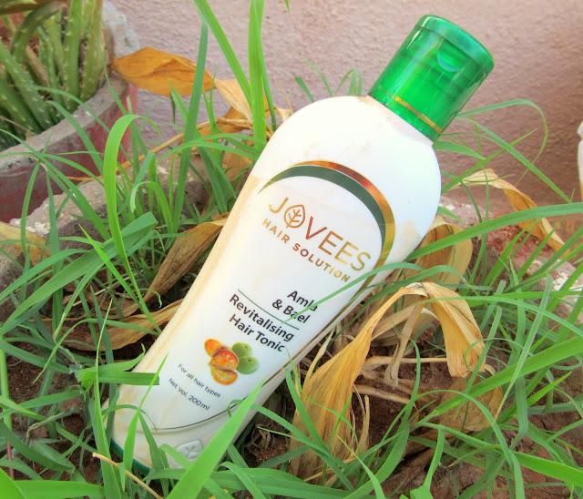 Jovees Amla & Bael Revitalising Hair Tonic Review, Price, Details