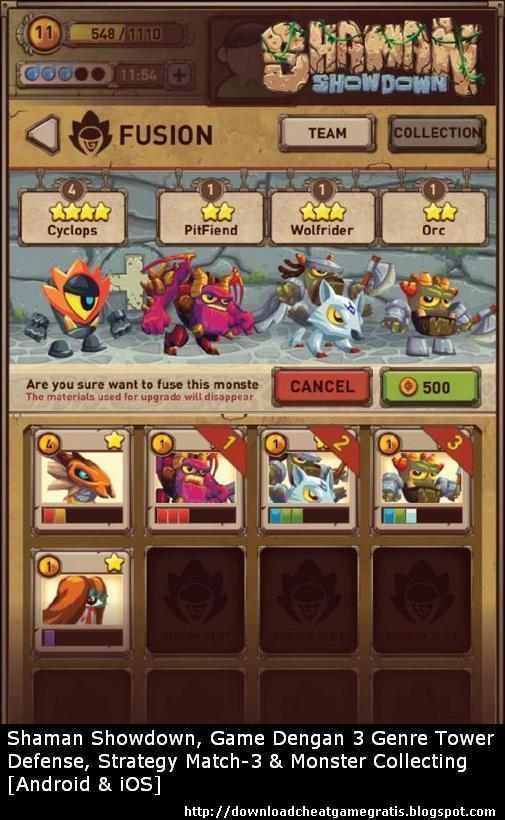 Shaman Showdown, Game Dengan 3 Genre: Tower Defense, Strategy Match-3 & Monster Collecting [Android & iOS]