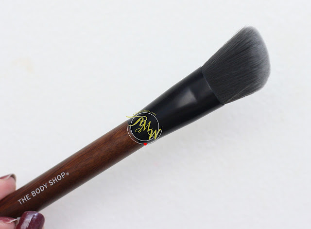 a photo of The Body Shop Slanted Blusher Brush