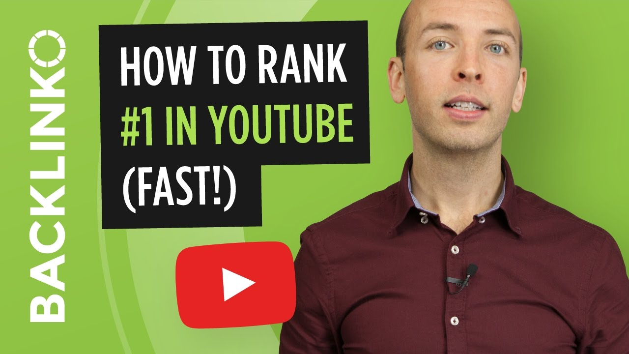 How to Rank #1 in YouTube (Fast!) [video]
