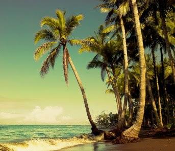tempat wisata Pantai Kastela di ternate maluku utara
