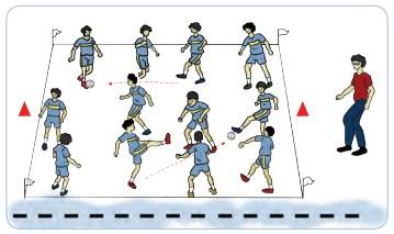 Tuliskan Cara Bermain Sepak Bola Yang Dimodifikasikan