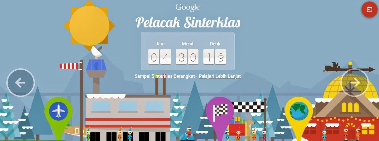 Game Google Pelacak Sinterklas