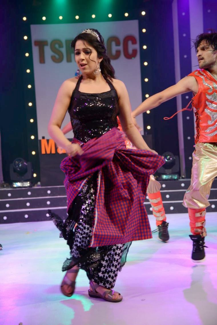 : Charmi Kaur Hot Dance Performance On
