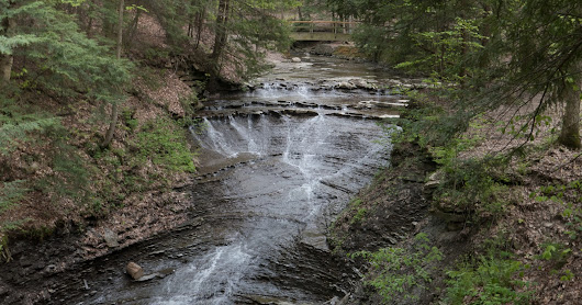 Bridal Veil Falls in Cuyahoga Valley National Park