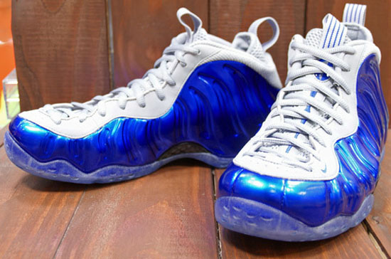 sports shoes d40af 0d78e Nike Air Foamposite One Sport Royal Game Royal-Wolf Grey June 2013