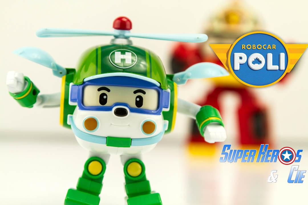 super h ros et compagnie jouet robocar poli heli robot. Black Bedroom Furniture Sets. Home Design Ideas