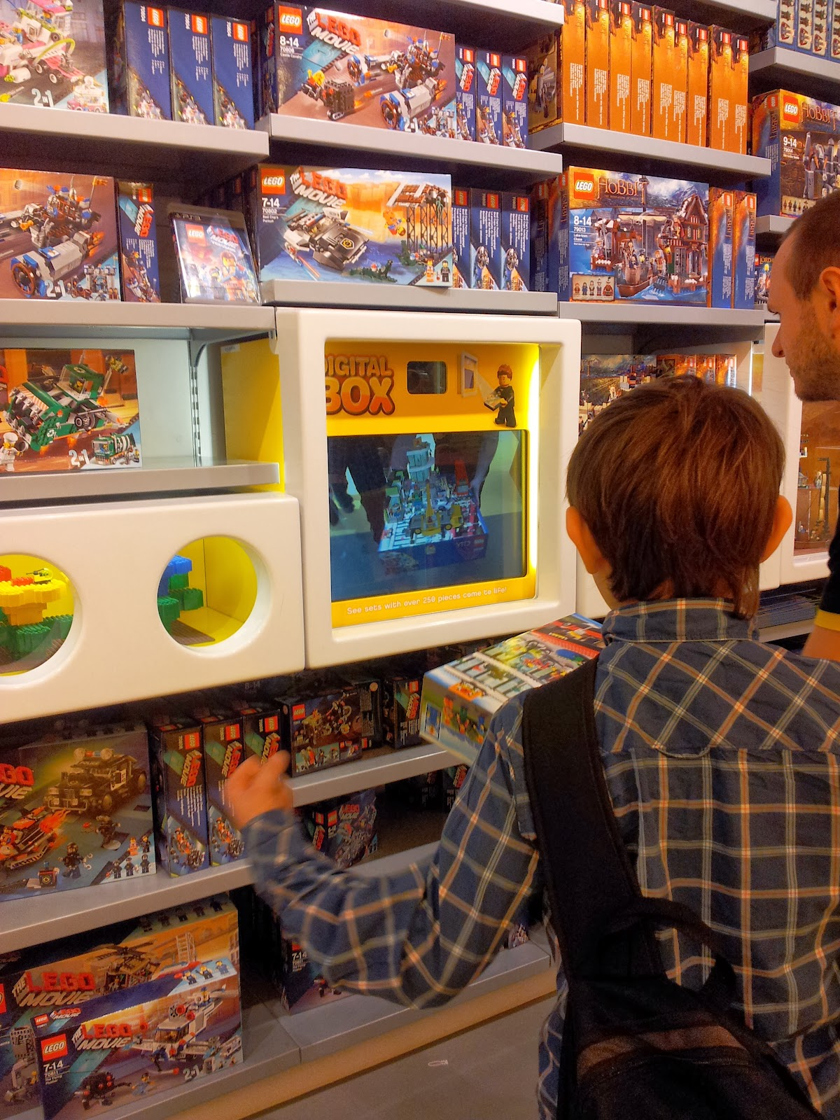 Cardiff Half Term St Davids Centre Wales Lego Stores Pick n Mix Digital Box