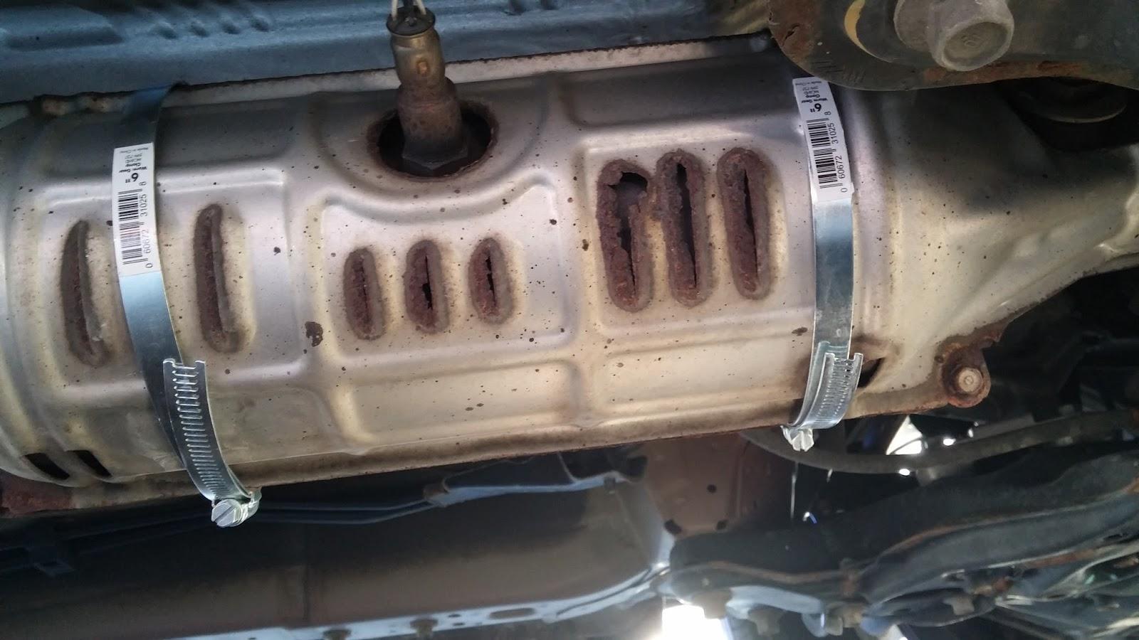 aravinda777: 2009 Honda CR-V Heat Shield Rattle Fix