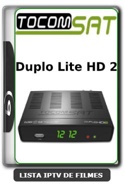 Tocomsat Duplo Lite HD 2 Nova Atualização Satélite SKS Keys 61w ON V1.74 - 31-03-2020