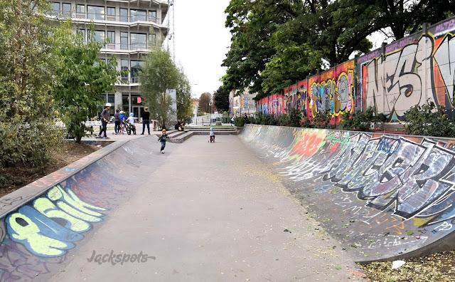 Skate park Pantin