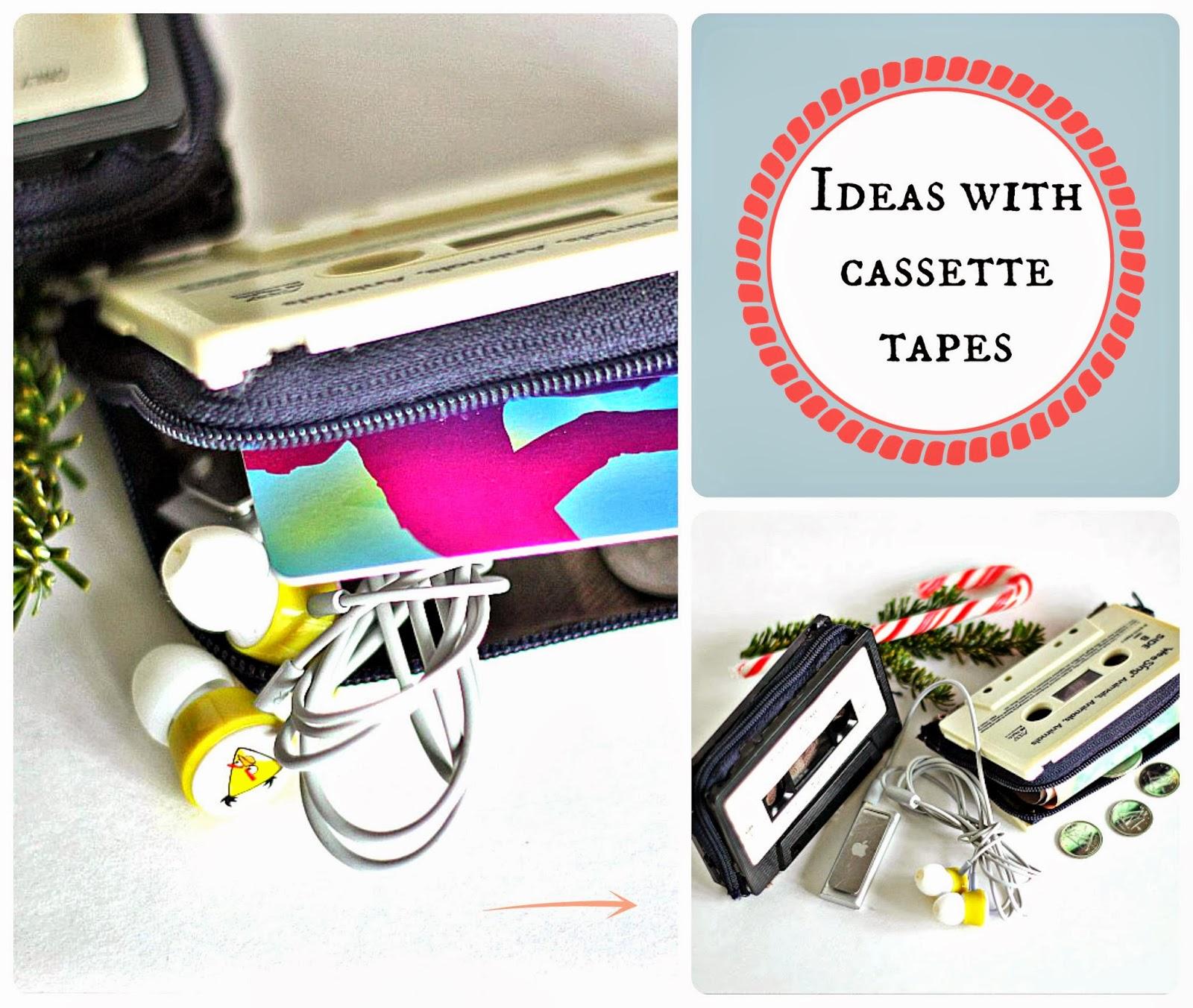 wykorzystanie kasety magnetofonowej