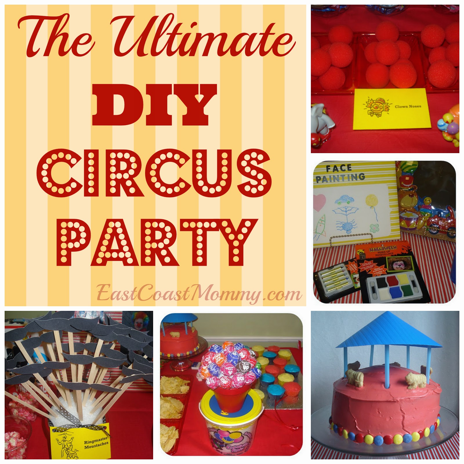 East Coast Mommy DIY CircusCarnival Party