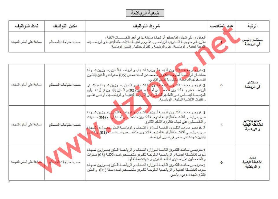 مسابقة توظيف المستخدمين الشبيهين في مديريات الأمن الوطني جويلية 2017