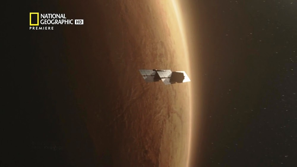 National Geographic MARS - episode 5, season 2 (satellite)