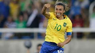 A Seleção Feminina do Brasil tocou 5 x 1 na Suécia. Marta deu show 53f7807fbd0cb