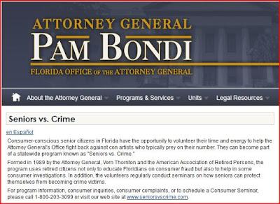 seniors vs crime attorney general pam bondi