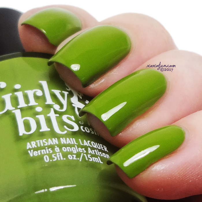 xoxoJen's swatch of Girly Bits It's Near Leaf All