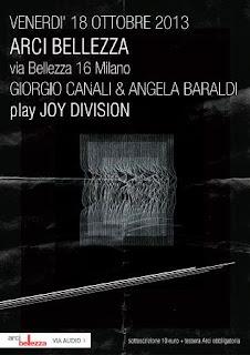 18 Ottobre. Canali & Baraldi all'Arci Bellezza di Milano
