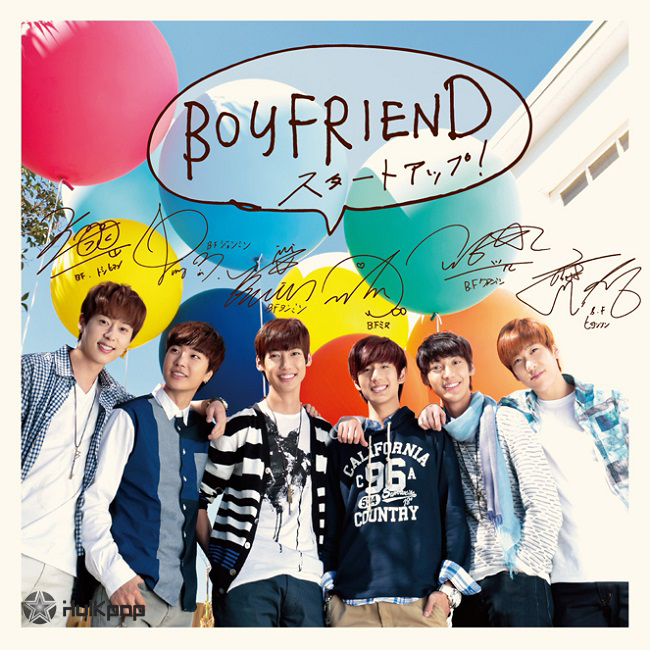 [Single] BOYFRIEND – Start Up! (Japanese)