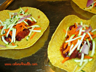 Vegan Tac and Salsa Recipes at Colors 4 Health