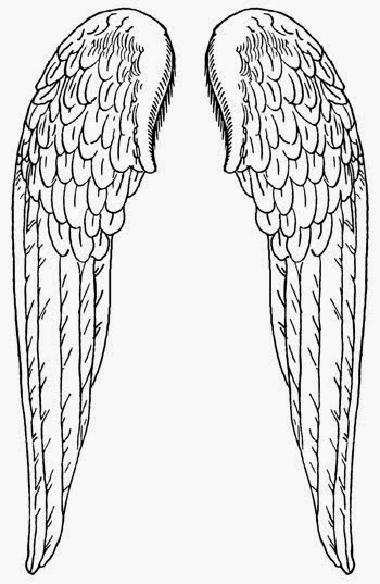 angels wings clip art 051515» vector clip art  free clip
