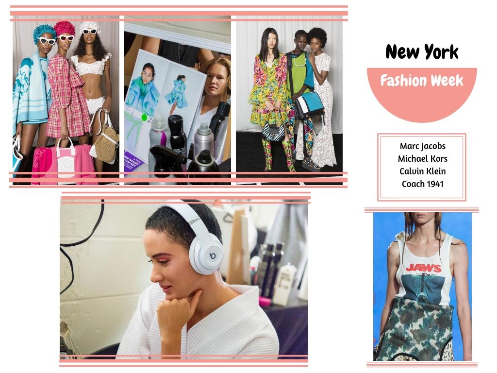 La Fashion Week était bercé par Marc Jacobs avec ses drapés de tissus,  Michael Kors avec une collection très ensoleillée, et Calvin Klein working, girl.