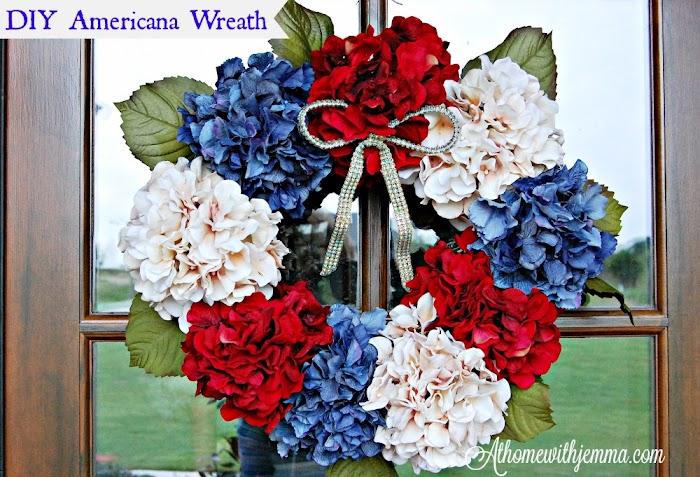 DIY Americana Wreath