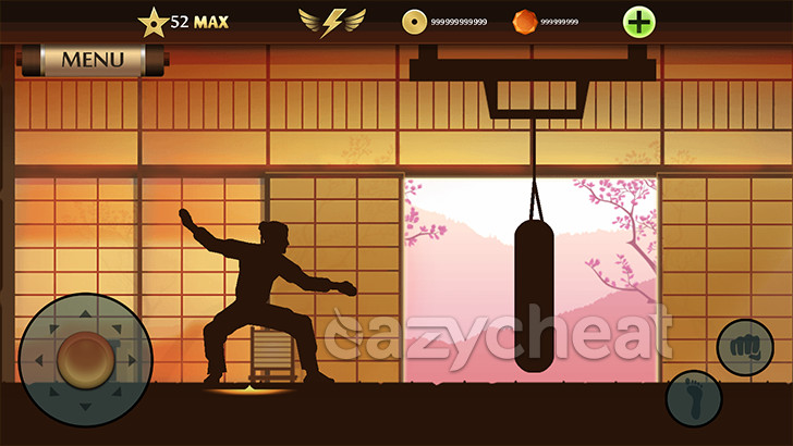 hack shadow fight 2 max level 52