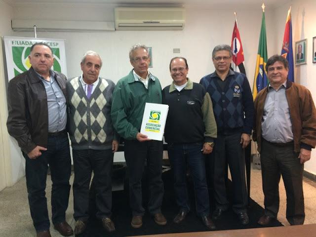 Presidente e diretores da ACIAR recebem deputado Giriboni e reivindicam apoio para lutas do comércio
