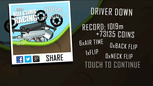 Unlimited koin hill climb racing