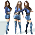 MH Unique - Nora Denim Outfit  & Pearls Boots