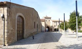 Patio interior del Monasterio de Poblet.