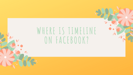 How To Facebook Timeline<br/>