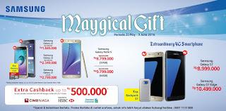 Samsung Magical Gift Promo Bonus Aksesoris dan Cashback