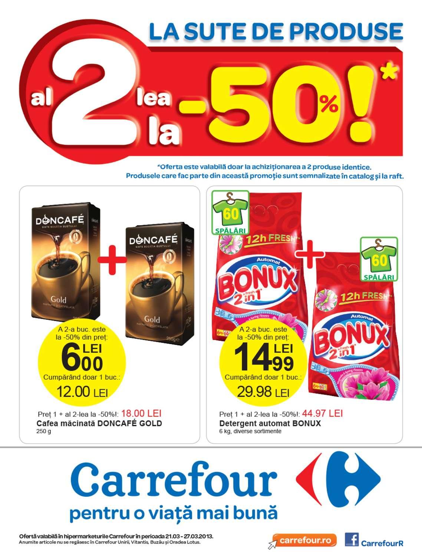Catalog Oferte Si Promotii Oferta Carrefour Iasi 21 27 Martie 2013