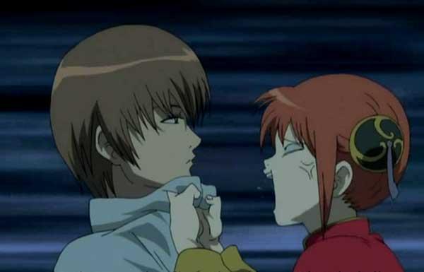 10 pasangan anime terbaik versi Charapedia - Okita Sougo x Kagura (Gintama)