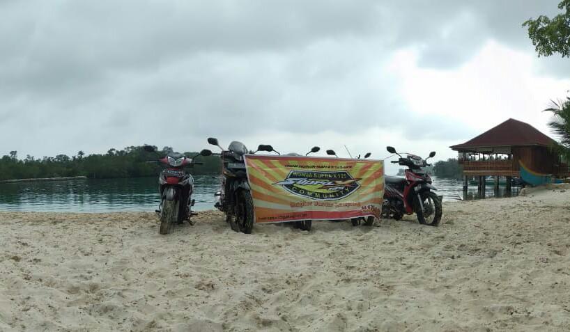 Touring Piknik HSX 125 Community Bandar Lampung Menikmati Pulau Tanjung Putus