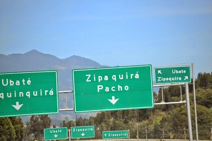 Turystycznym pociągiem po Zipaquirze