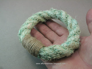 rope bracelet grommet bracelet massive soft bangle marlinspike craft
