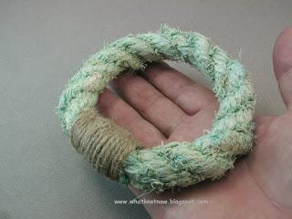 rope bracelet grommet bracelet massive soft bangle marlinspike craft