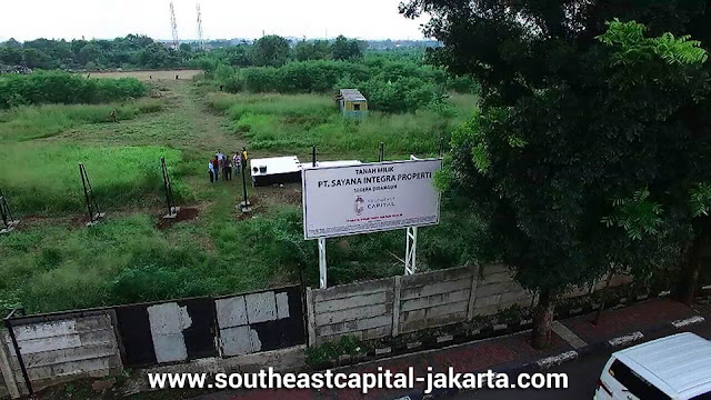 Foto lokasi proyek Southeast Capital Jakarta