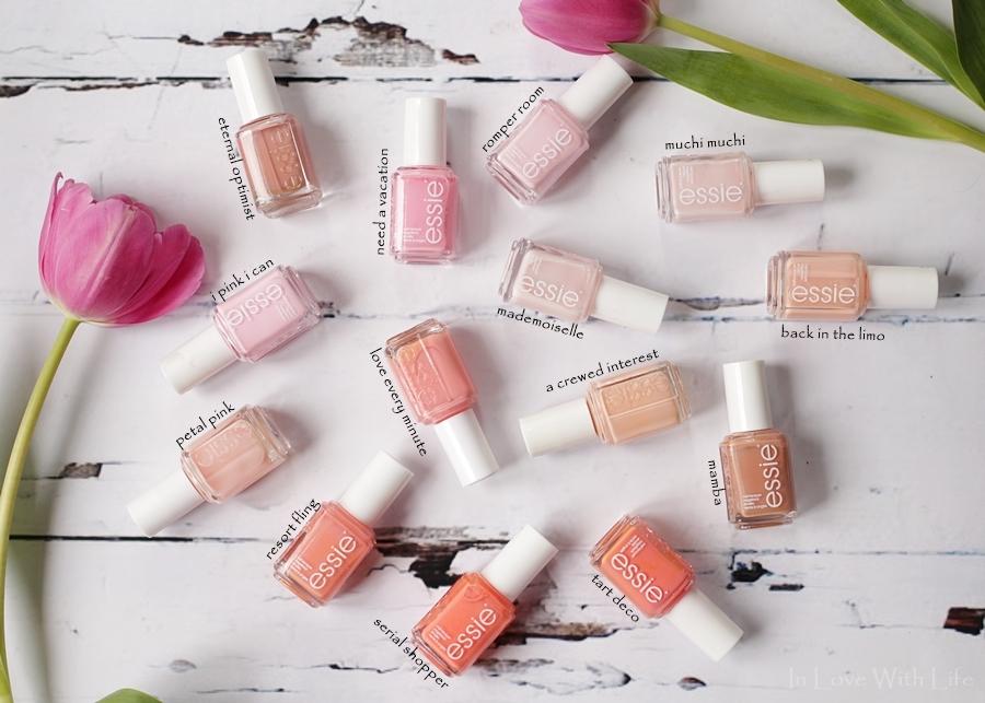 essie - rosa peach